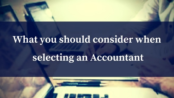 Switching Accountants
