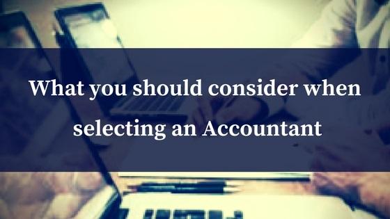 Switching Accountants