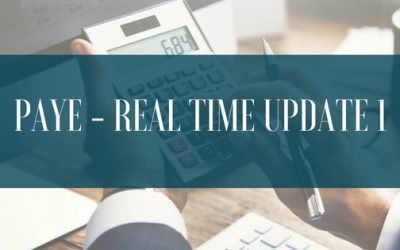 PAYE – Real Time Update